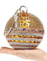 cheap -Women's Bags Acrylic / Rhinestones Evening Bag Rivet / Crystals for Wedding / Event / Party Gold / Silver / Red