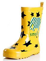 Недорогие -Девочки Обувь Резина Весна лето Резиновые сапоги Ботинки для Желтый / Красный / Синий