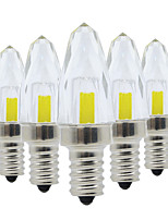 abordables -YWXLIGHT® 5pcs 3W 200-300lm E12 LED à Double Broches 5 Perles LED COB Intensité Réglable Blanc Chaud / Blanc Froid 220-240V / 110-130V