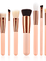 preiswerte -9pcs Makeup Bürsten Professional Bürsten-Satz- Nylonfaser Umweltfreundlich / Weich Holz / Bambus