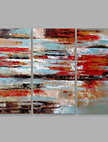 cheap -Oil Painting Hand Painted - Abstract Modern Others