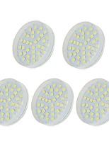 baratos -5pçs 5W 36 LEDs Luz de Armário Branco Quente Branco Frio Branco Natural 220-240V