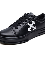 cheap -Men's Shoes PU(Polyurethane) Fall Light Soles Sneakers White / Black / Red