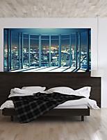 abordables -Autocollants muraux décoratifs - Autocollants muraux 3D Paysage / Forme Chambre à coucher / Chambre des enfants