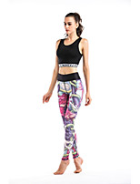 cheap -Women's Daily Sporty Legging - Color Block Mid Waist
