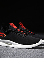 cheap -Men's Shoes Knit Summer Comfort / Light Soles Sneakers Black / White / Black / Red / Black / Yellow