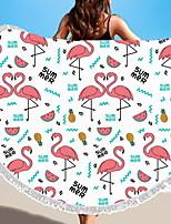 abordables -Qualité supérieure Drap de plage, Géométrique / Animal Polyester / Coton 1 pcs