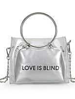 cheap -Women's Bags PVC Bag Set Bow(s) / Zipper for Casual Black / Silver