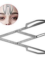 Недорогие -1pcs штук Шаблон для бровей Нержавеющая сталь Глаза / Лицо Профессиональный / Переносной профессиональный уровень / Портативные Макияж