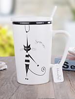abordables -Drinkware Porcelaine Tasse Athermiques Dessin-Animé Mignon 1pcs