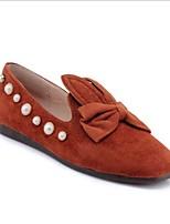 cheap -Women's Shoes Cashmere Spring & Summer Comfort Flats Flat Heel Beige / Gray / Yellow