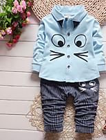 cheap -Toddler Unisex Geometric Long Sleeves Clothing Set