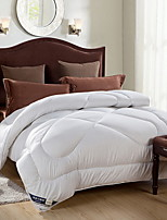 abordables -Confortable - 1 Couvre-lit Printemps & Automne Térylène Couleur Pleine