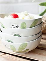 cheap -4pcs Porcelain Creative Dining Bowl, Dinnerware