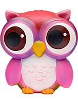 cheap -Squeeze Toy / Sensory Toy / Stress Reliever Owl Office Desk Toys / Decompression Toys Others 1pcs Children's All Gift