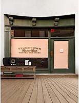 Недорогие -Сад Архитектура Декор стены Полиэстер Современный Предметы искусства, Стена Гобелены Украшение
