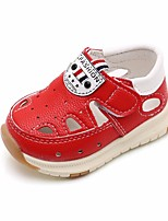 cheap -Girls' Shoes PU(Polyurethane) Summer Comfort / First Walkers Flats for White / Yellow / Red