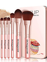 cheap -7 pcs Professional Makeup Brushes Makeup Brush Set Synthetic Hair Professional / Comfy Plastic / Aluminium 3 * Eyeshadow Brush / 1 *