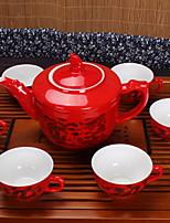 Недорогие -7 шт Фарфор Набор для чаепития Heatproof ,  16*11;7.2*4.5cm