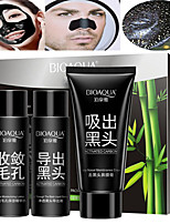 cheap -3 pcs Cleansers / Mask / Facial Cleanser Wet Cleaning Kit / Liquid / Mask Deep-Level Cleaning / Pore-Minimizing / Blackhead Men / Women /