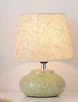 cheap -Modern / Contemporary Decorative Table Lamp For Ceramic 220-240V White Yellow Wood