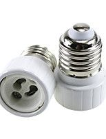 cheap -2pcs E27 to GU10 GU10 Converter / Bulb Accessory Light Socket Aluminum / Ceramic