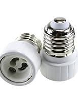 abordables -2pcs E27 à GU10 GU10 Adaptateur / Accessoire d'ampoule Prise de lumière Aluminium / Céramique