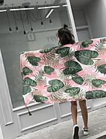 abordables -Qualité supérieure Drap de plage, Floral / Botanique Polyester / Coton 1 pcs