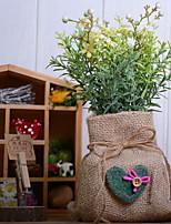 abordables -Fleurs artificielles 1 Une succursale Rétro Plantes Fleur de Table
