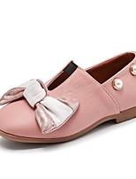 Недорогие -Девочки Обувь Резина Лето / Осень Удобная обувь / Детская праздничная обувь На плокой подошве для Черный / Бежевый / Розовый