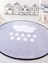 cheap -Doormats / Area Rugs Casual / Modern Pure Cotton, Circular Superior Quality Rug