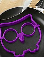 Недорогие -Кухонные принадлежности Силикон Heatproof / Инструмент выпечки / Творческая кухня Гаджет DIY прессформы Для Egg 1шт