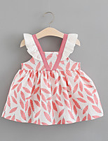 cheap -Toddler Girls' Color Block Sleeveless Dress