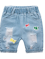 Недорогие -Дети (1-4 лет) Универсальные С принтом Джинсы