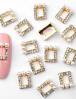cheap -10 pcs Stylish Rhinestones / Nail Jewelry Cake Jewelry / Nail Art Design / Nail Art Forms