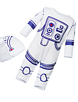 cheap -Baby Unisex Striped Long Sleeves Romper