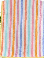 abordables -Style frais Serviette de bain Serviette, Multicolore Qualité supérieure Polyester / Coton Etoffe jacquard 1pcs