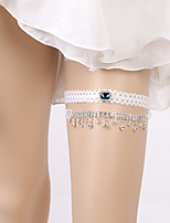 cheap -Lace Classic Jewelry / Vintage Style Wedding Garter 617 Rhinestone / Gore Garters Wedding / Party & Evening