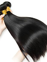 cheap -Peruvian Hair Straight Natural Color Hair Weaves / Human Hair Extensions 3 Bundles Human Hair Weaves Extention / Hot Sale Natural Black Human Hair Extensions All