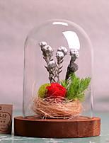 abordables -Fleurs artificielles 1 Une succursale Elégant Fleurs éternelles Fleur de Table