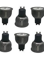 Недорогие -ZDM® 6шт 4W 1 светодиоды Точечное LED освещение Тёплый белый Холодный белый Естественный белый 85-265V Деловой Дом / офис