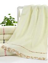 abordables -Qualité supérieure Serviette, Ecossais / à Carreaux Polyester / Coton 1 pcs