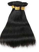 cheap -Indian Hair Straight Natural Color Hair Weaves / Human Hair Extensions 3 Bundles Human Hair Weaves Extention / Hot Sale Natural Black Human Hair Extensions All