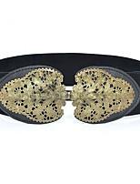cheap -Women's Vintage Active Alloy Wide Belt