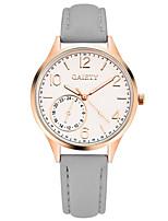 preiswerte -Damen Quartz Armbanduhr Chinesisch Chronograph / Imitation Diamant PU Band Luxus / Armreif Schwarz / Weiß / Blau / Rot / Grau / Rosa /