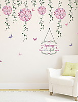 cheap -Decorative Wall Stickers - Plane Wall Stickers Floral / Botanical Living Room