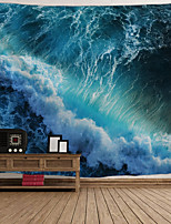 Недорогие -Архитектура Декор стены Полиэстер Винтаж Предметы искусства, Стена Гобелены Украшение
