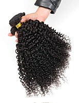 cheap -Eurasian Hair Curly Human Hair Weaves 50g x 4 Hot Sale Extention Natural Color Hair Weaves Human Hair Extensions All Christmas Gifts