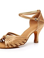abordables -Femme Chaussures Latines Matières Personnalisées Basket Talon haut Personnalisables Chaussures de danse Chair / Intérieur