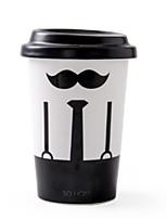 abordables -Drinkware Porcelaine Tasse Girlfriend cadeaux Boyfriend cadeaux Athermiques 1pcs
